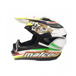 Casco de cross malcor...