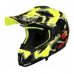 CASCO DE CROSS MALCOR SHIRO...