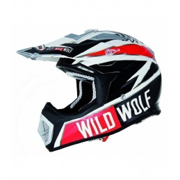 Casco cross en carbono wild...