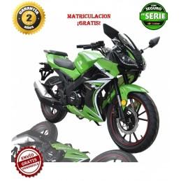 Moto Malcor Furious RR verde