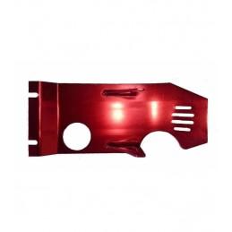 Cubrecarter aluminio rojo...